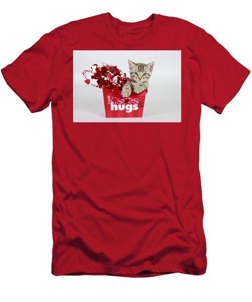 Kisses And Hugs Men's T-Shirt (Athletic Fit)