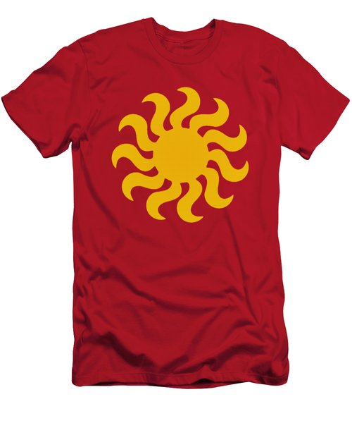 Knitted Sun Men's T-Shirt (Athletic Fit)