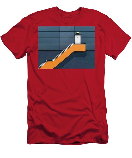 Knock Before Entering Men's T-Shirt (Athletic Fit)