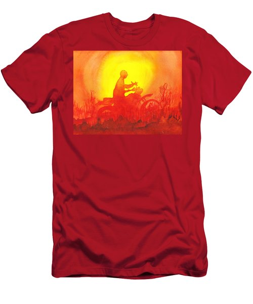 Koala Lumpur Sunset Men's T-Shirt (Slim Fit) by Donna Walsh