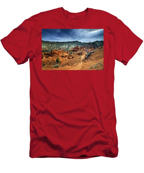 Kodachrome Basin Afternoon Men's T-Shirt (Athletic Fit)