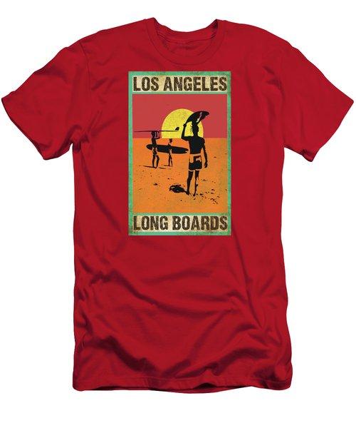 La Long Boards Men's T-Shirt (Athletic Fit)