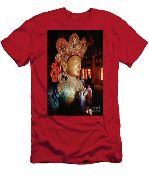 Men's T-Shirt (Slim Fit) featuring the photograph Ladakh_41-2 by Craig Lovell