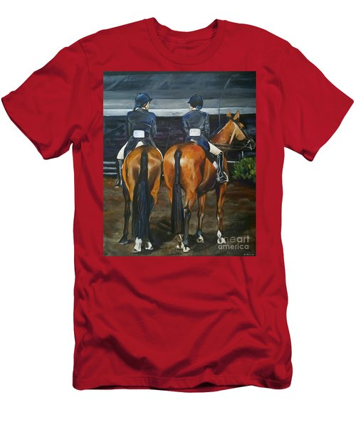 Ladies At Sussex Hunt Night Men's T-Shirt (Athletic Fit)