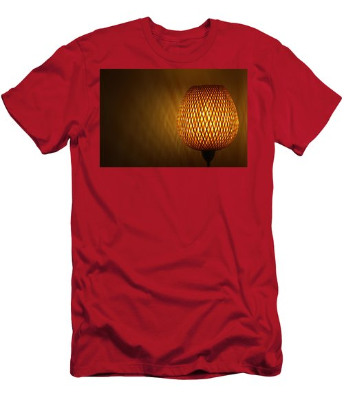 Men's T-Shirt (Slim Fit) featuring the photograph Lamp by RKAB Works