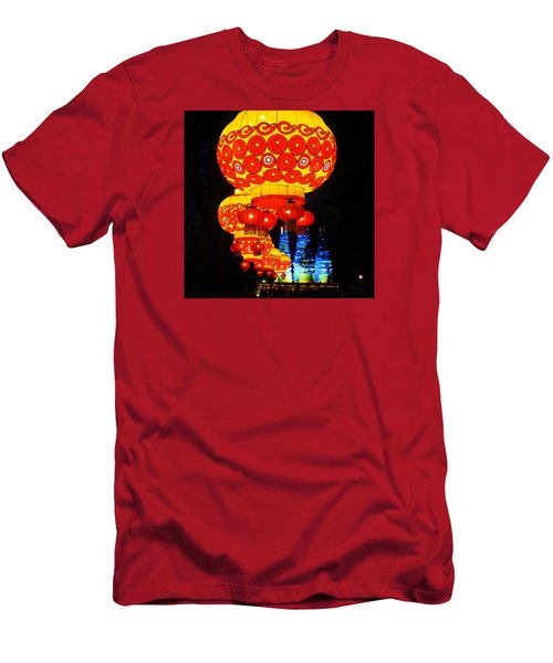 Lantern Walk Men's T-Shirt (Athletic Fit)