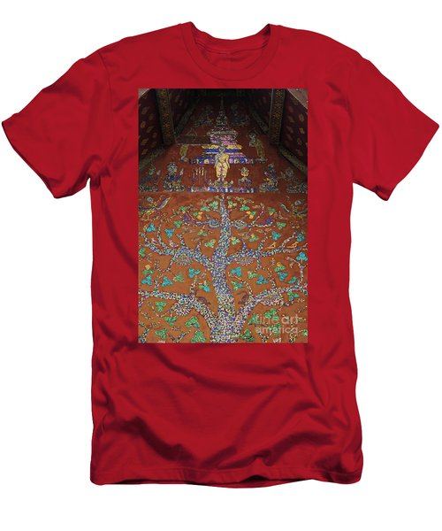 Men's T-Shirt (Slim Fit) featuring the photograph Laos_d92 by Craig Lovell