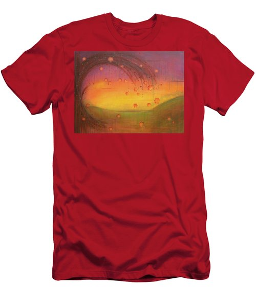 Late Fall - Tree Series Men's T-Shirt (Athletic Fit)