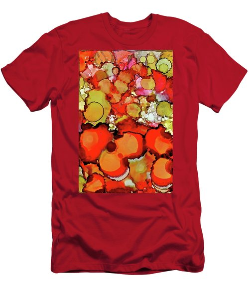 Late Summer Flowers Men's T-Shirt (Athletic Fit)