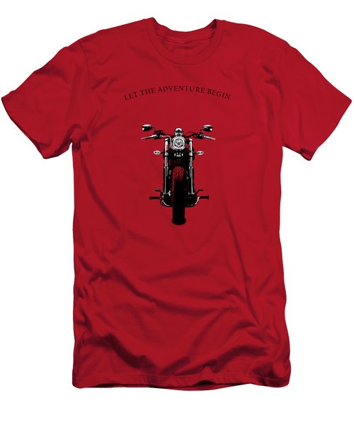 Let The Adventure Begin Men's T-Shirt (Athletic Fit)