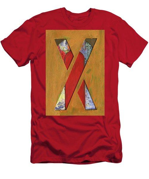 Letter X Men's T-Shirt (Athletic Fit)