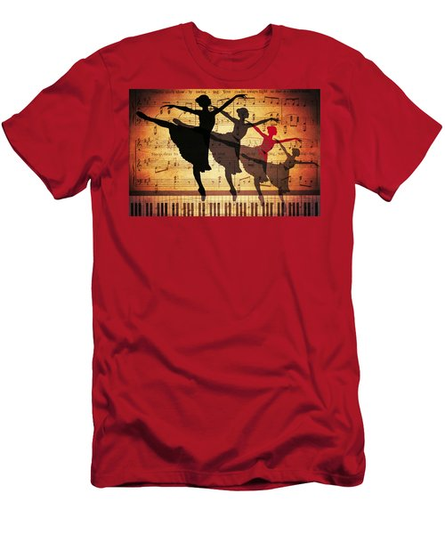 Life Is Music Men's T-Shirt (Athletic Fit)