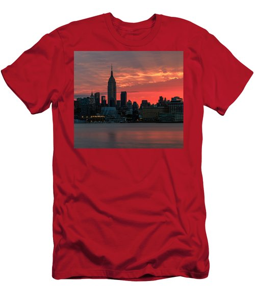 Light Ray's Of Nyc  Men's T-Shirt (Athletic Fit)