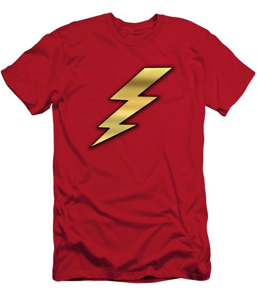 Lightning Transparent Men's T-Shirt (Athletic Fit)