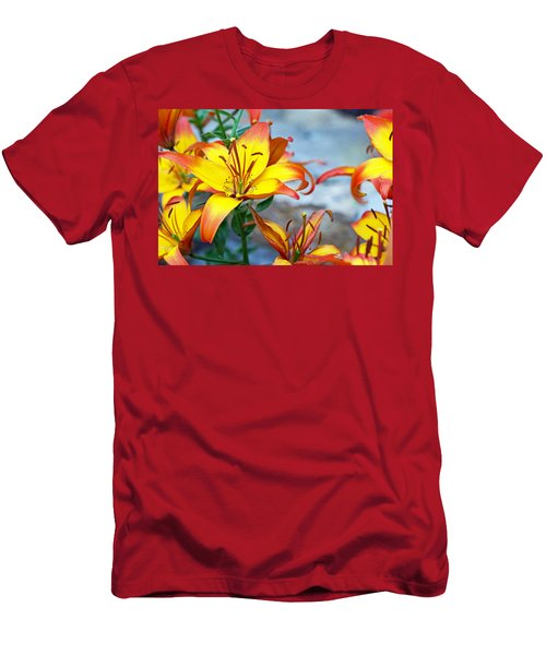 Lilies Of The Field #1 Men's T-Shirt (Athletic Fit)