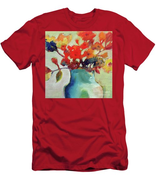 Men's T-Shirt (Athletic Fit) featuring the painting Little Bouquet by Michelle Abrams