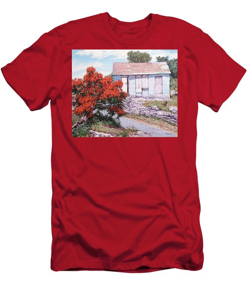 Little Poinciana Men's T-Shirt (Athletic Fit)
