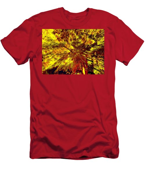 Men's T-Shirt (Athletic Fit) featuring the photograph Lock 3 by EDi by Darlene