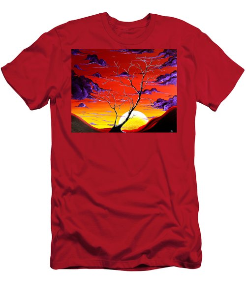 Lonely Soul By Madart Men's T-Shirt (Athletic Fit)
