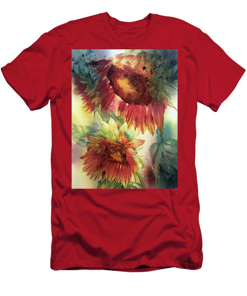 Look On The Sunny Side Men's T-Shirt (Athletic Fit)
