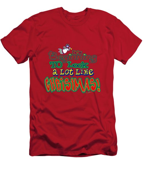 Looks Like Christmas Men's T-Shirt (Athletic Fit)