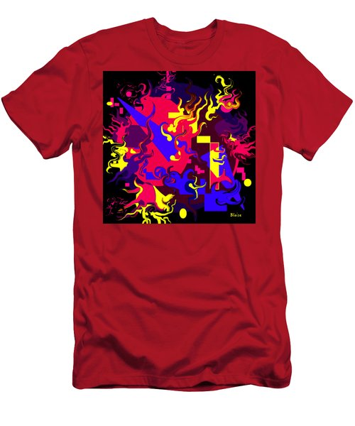 Loss Of Equilibrium Men's T-Shirt (Slim Fit) by Yvonne Blasy