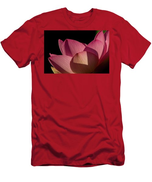 Men's T-Shirt (Athletic Fit) featuring the photograph Lotus Flower 5 by Buddy Scott