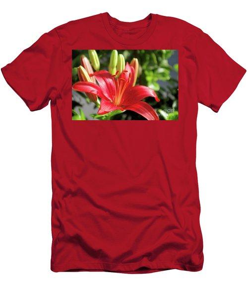 Lovely Flower Men's T-Shirt (Athletic Fit)