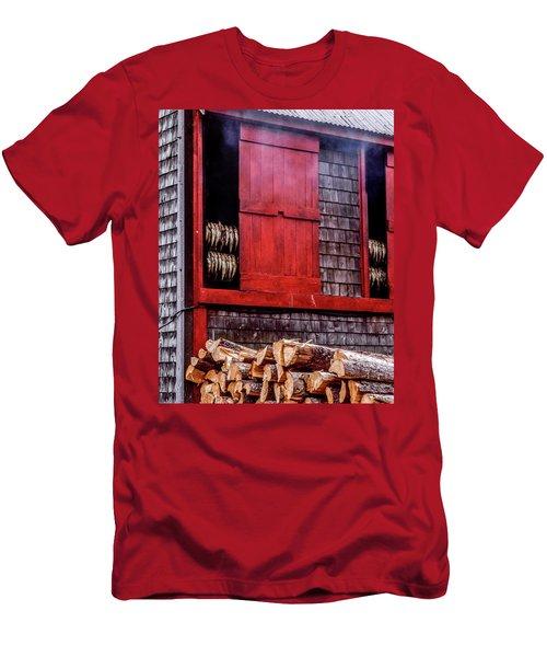 Lubec Smokehouse Men's T-Shirt (Athletic Fit)