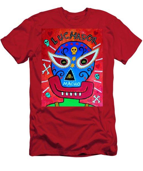 Luchador Men's T-Shirt (Athletic Fit)