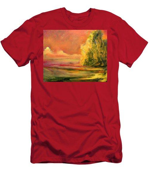 Luminous Sunset 2-16-06 Julianne Felton Men's T-Shirt (Athletic Fit)