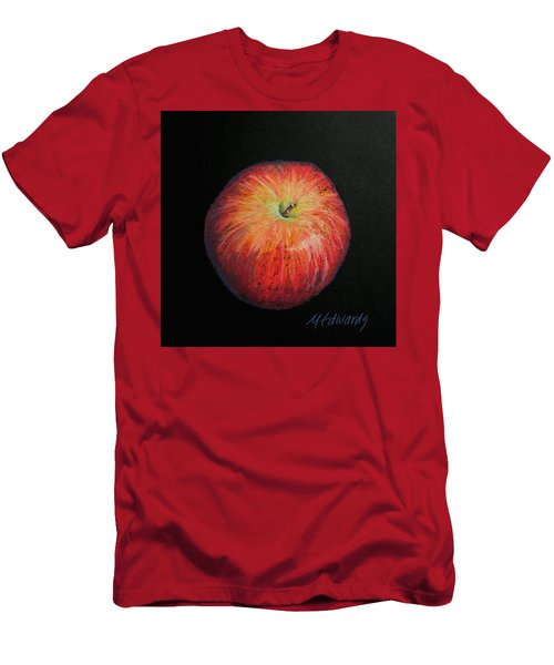 Lunch Apple Men's T-Shirt (Slim Fit) by Marna Edwards Flavell