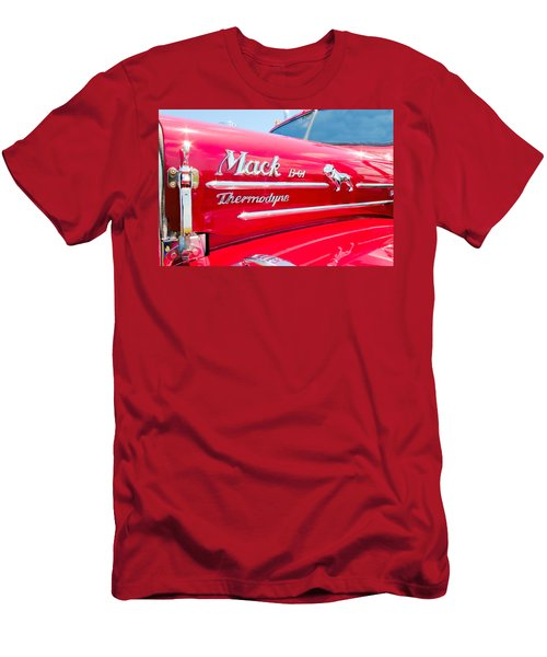 Mack Truck Hood Badges Men's T-Shirt (Athletic Fit)