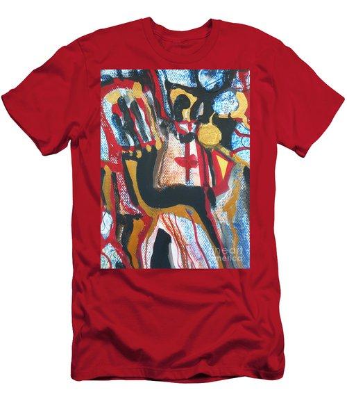 Madonna-1 Men's T-Shirt (Athletic Fit)