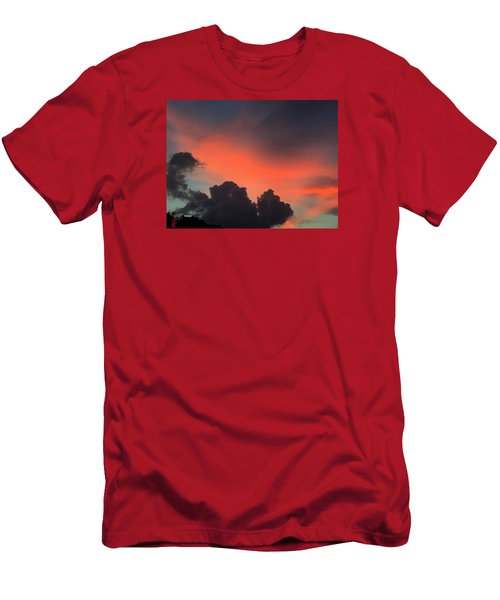 Late Day On Paros Island  Men's T-Shirt (Athletic Fit)