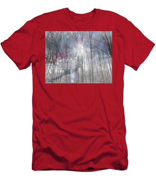 Magical Horses Men's T-Shirt (Athletic Fit)