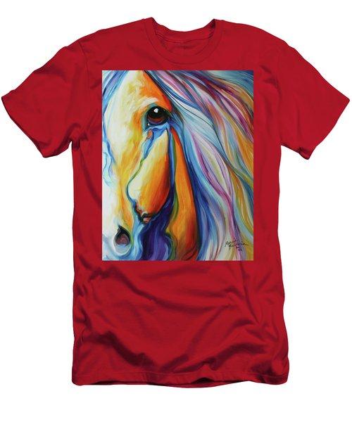 Majestic Equine 2016 Men's T-Shirt (Slim Fit) by Marcia Baldwin