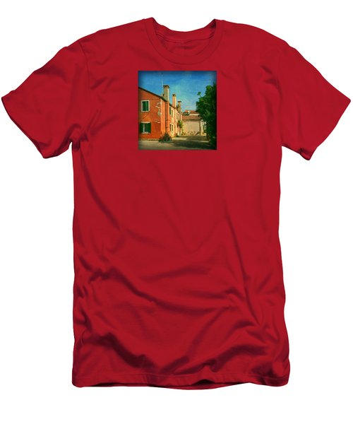 Men's T-Shirt (Slim Fit) featuring the photograph Malamocco Corner No1 by Anne Kotan