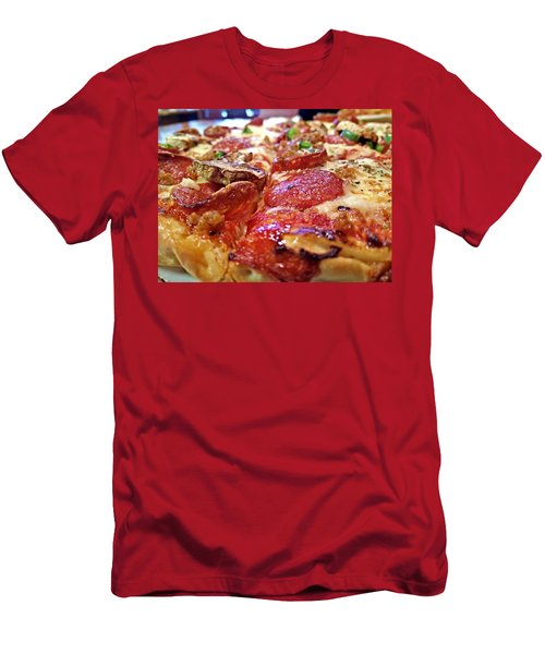 Mama Lido's Pizza Men's T-Shirt (Athletic Fit)