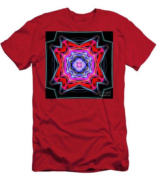 Men's T-Shirt (Athletic Fit) featuring the digital art Mandala 3325 by Rafael Salazar