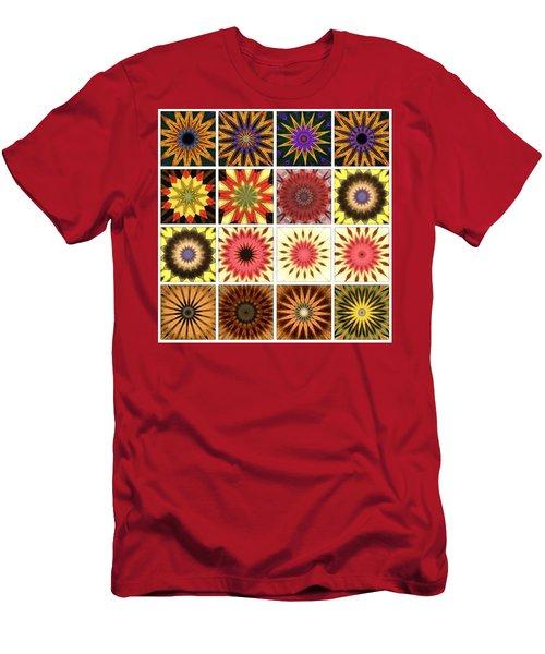 Mandala Monday Meditation Men's T-Shirt (Athletic Fit)