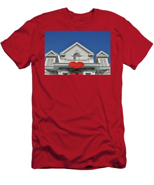Men's T-Shirt (Athletic Fit) featuring the photograph Mansion Of Love by Jost Houk