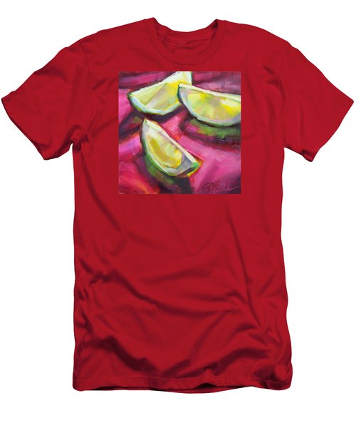 Margarita Limes Men's T-Shirt (Slim Fit) by Tracy Male
