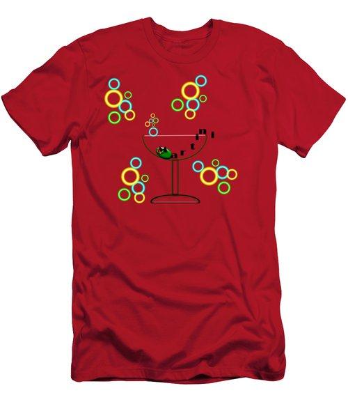 Martini Happy Men's T-Shirt (Athletic Fit)