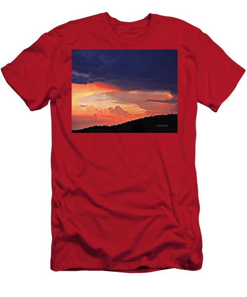 Mazatzal Peak Sunset Men's T-Shirt (Athletic Fit)