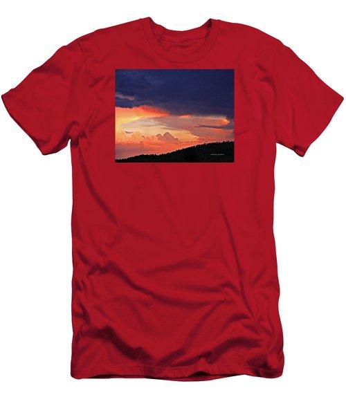 Mazatzal Peak Sunset Men's T-Shirt (Athletic Fit)