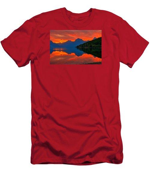 Mcdonald Sunrise Men's T-Shirt (Slim Fit) by Greg Norrell