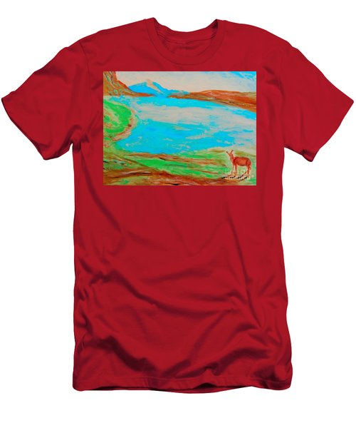 Medicine Lake Men's T-Shirt (Athletic Fit)