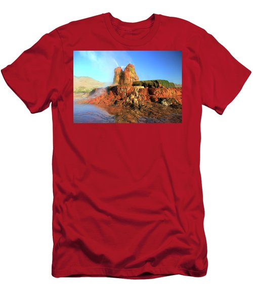 Meet The Fly Geyser Men's T-Shirt (Athletic Fit)