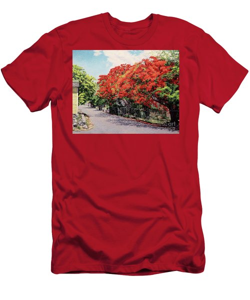 Meeting And Nassau Street Men's T-Shirt (Athletic Fit)